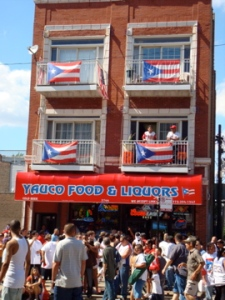 Chicago architecture + Puerto Rican culture