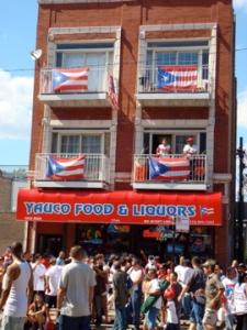 Chicago architecture + Puerto Rican culture